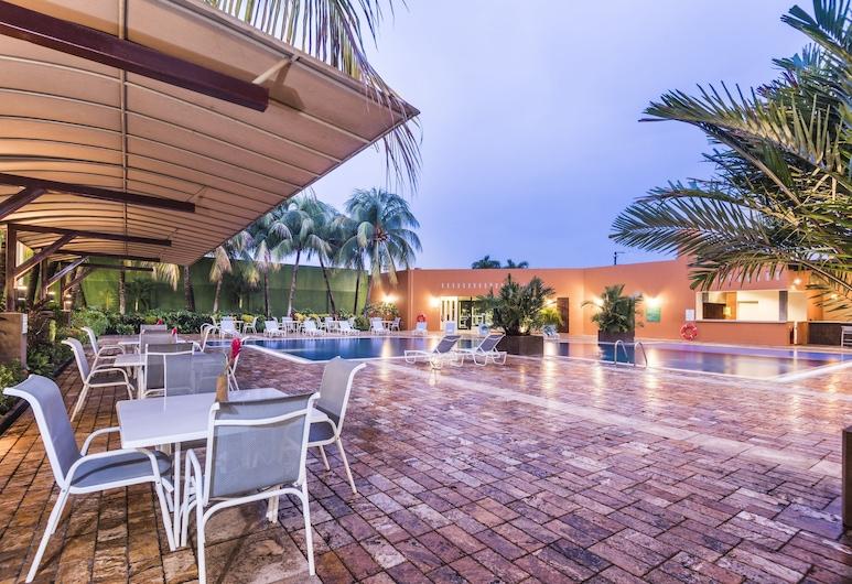 Holiday Inn Managua - Convention Center, Managua, Terrasse/Patio