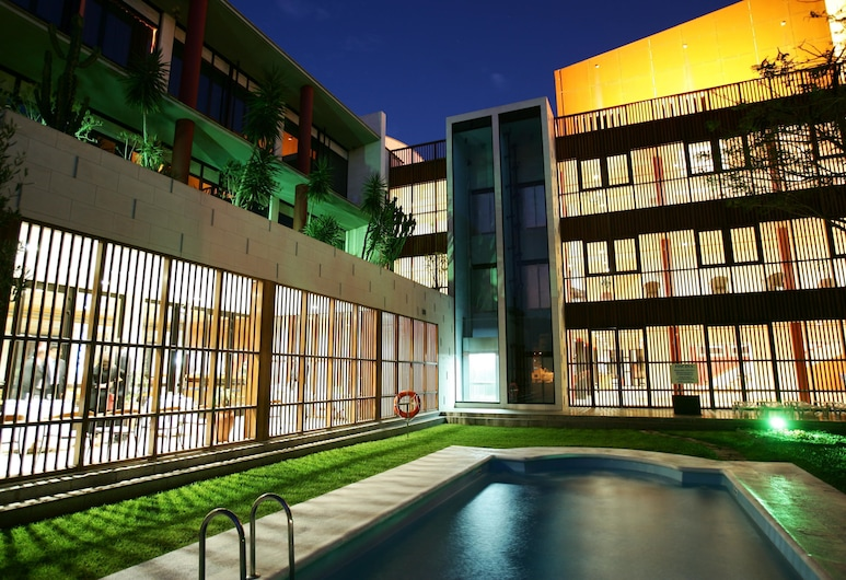 Hotel Escuela Santa Cruz, Santa Cruz de Tenerife, Piscina al aire libre