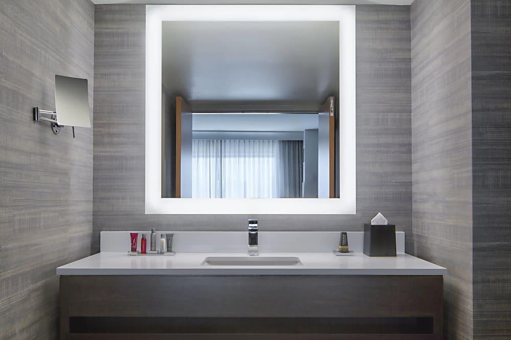 Værelse - 1 kingsize-seng - ikke-ryger - udsigt - Badeværelse
