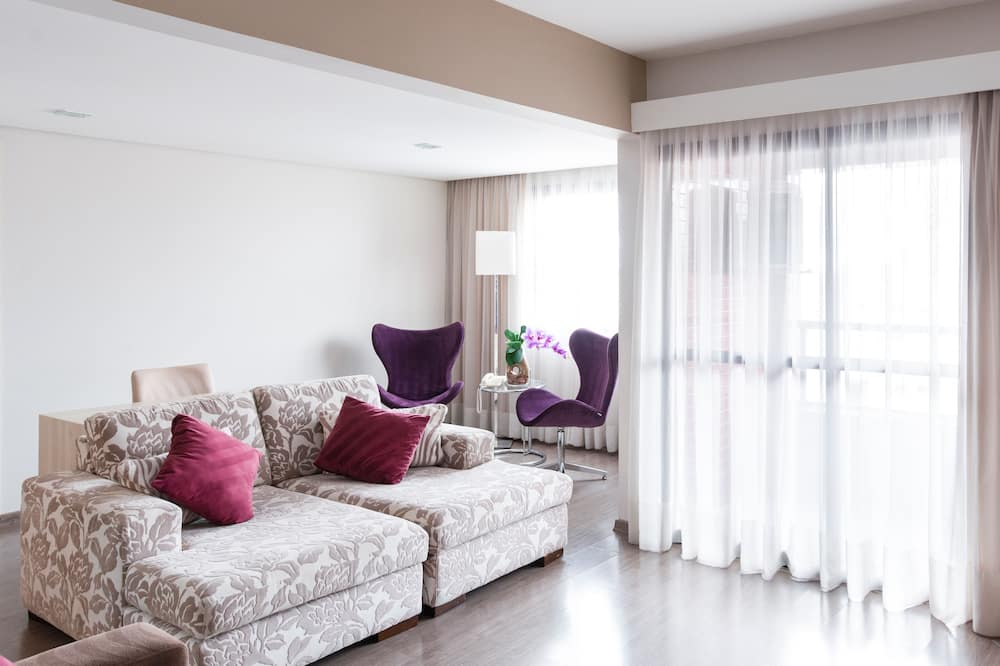Apartmán typu Executive, 1 veľké dvojlôžko - Obývačka
