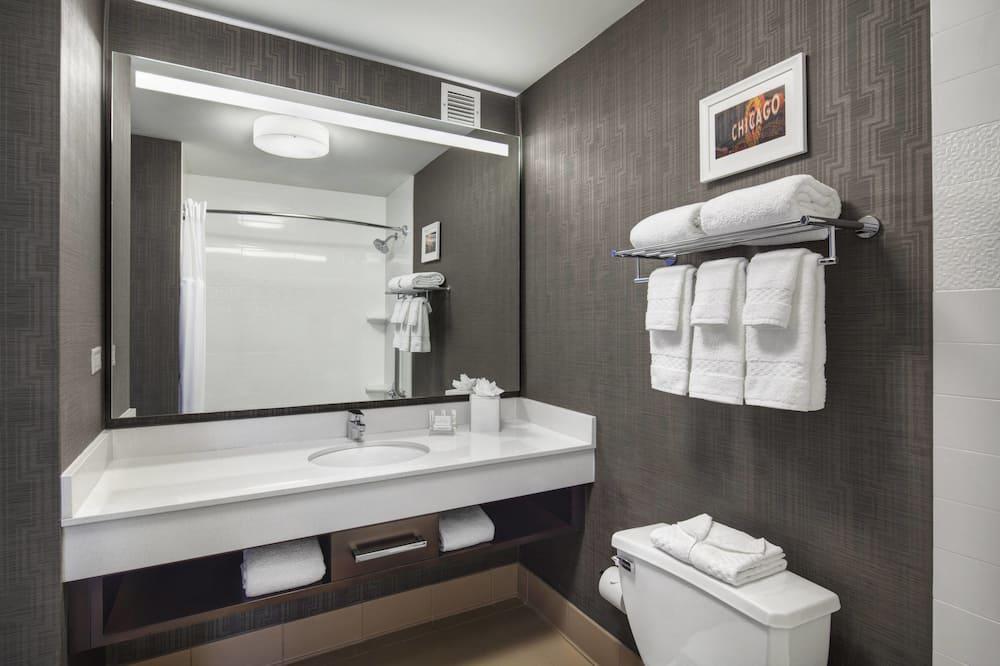 Zimmer, 1King-Bett, Nichtraucher, Eckzimmer - Badezimmer