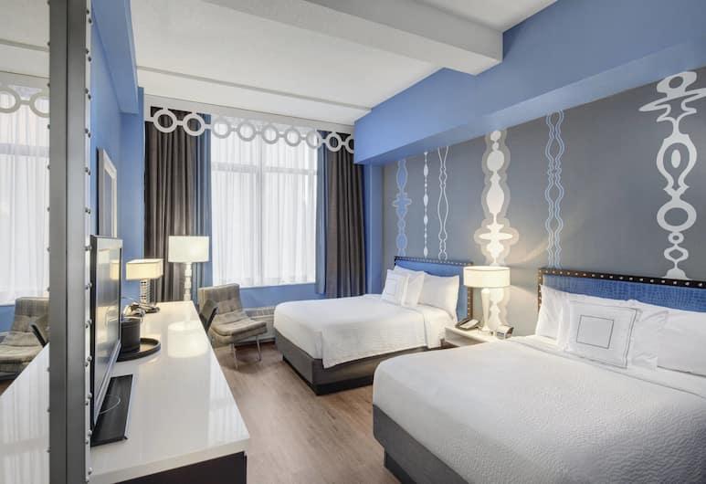 Fairfield Inn & Suites Chicago Downtown / Magnificent Mile, Chicago, Standard rom, 2 dobbeltsenger, Gjesterom