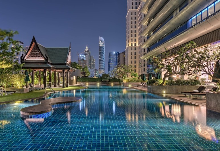 The Athenee Hotel, a Luxury Collection Hotel, Bangkok, Bangkok, Udendørs pool