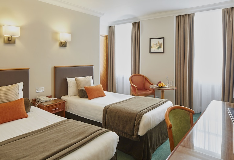 Lancaster Gate Hotel, Londýn, Pokoj se dvěma jednolůžky, Pokoj