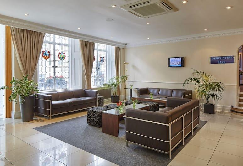Lancaster Gate Hotel, London, Sitteområde i lobbyen