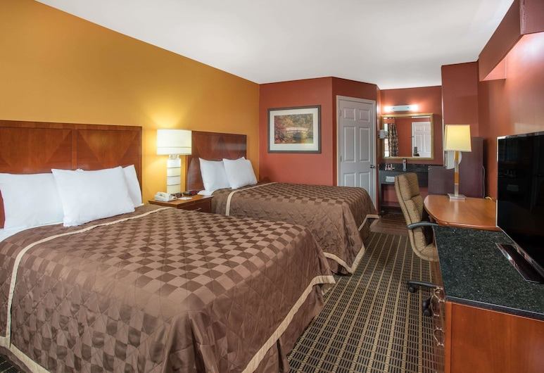 Travelodge by Wyndham Commerce GA Near Tanger Outlets Mall, Commerce, Chambre Double, 2 lits doubles, fumeurs, Chambre