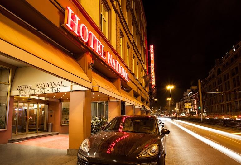 Centro Hotel National Frankfurt City, Francfort-sur-le-Main, Entrée de l'hôtel