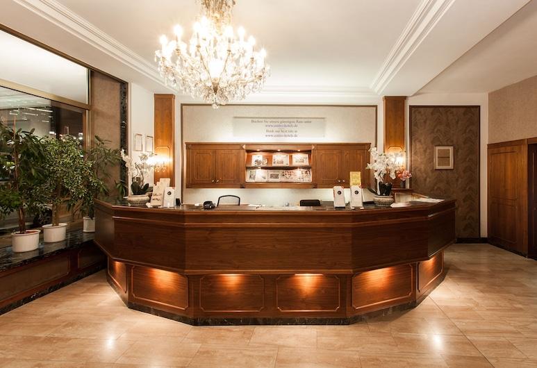 Centro Hotel National Frankfurt City, Frankfurt, Rezeption