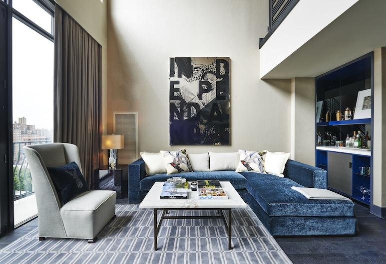 SIXTY SoHo, Nova York, Loft (Sixty), Área de estar