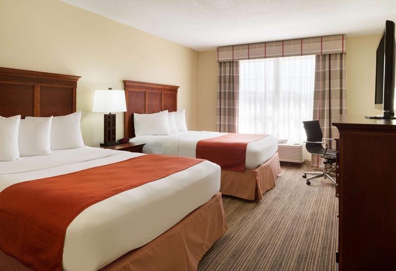 Country Inn & Suites by Radisson, Macedonia, OH, Μασεντόνια, Δωμάτιο, 2 Queen Κρεβάτια, Μη Καπνιστών, Δωμάτιο επισκεπτών
