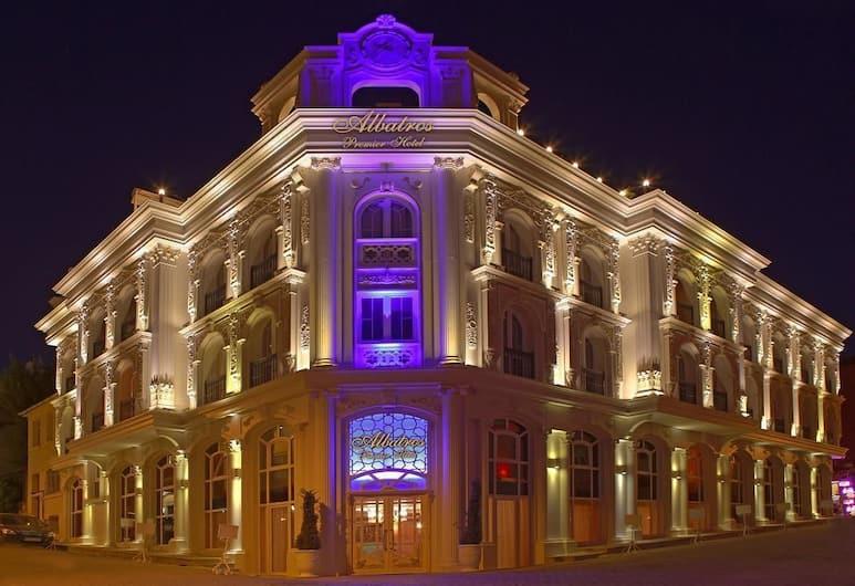 アルバトロス プレミア ホテル, イスタンブール, ホテルのフロント - 夕方 / 夜間