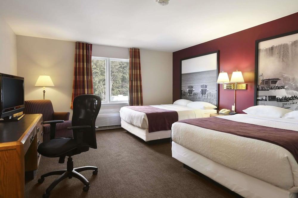 Студия-люкс, 2 двуспальные кровати «Квин-сайз», для некурящих - Главное изображение