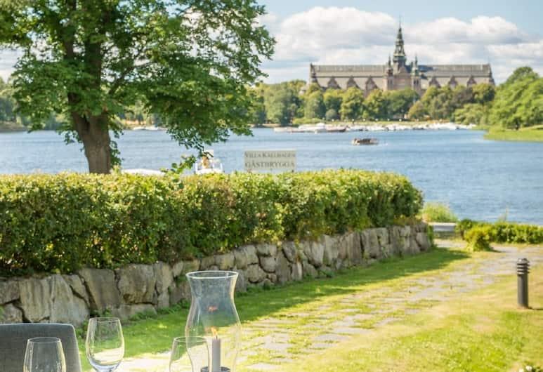 Villa Källhagen, Stockholm, Restaurang utomhus