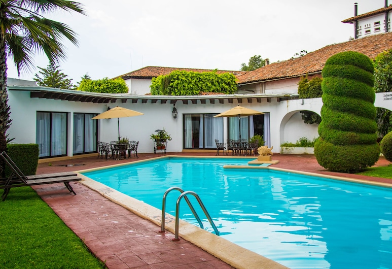 Best Western Plus Posada de Don Vasco, Patzcuaro, Venkovní bazén
