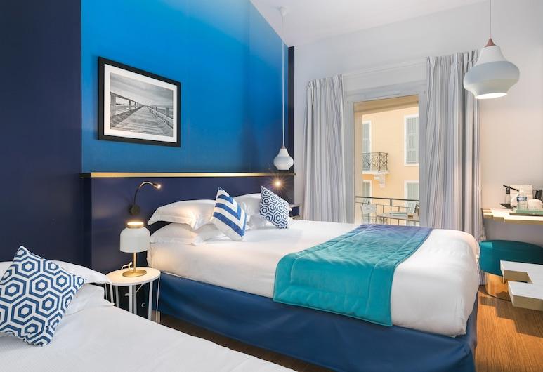 The Deck Hotel by HappyCulture, Nizza, Premium-Ferienhütte (Triple Room), Zimmer