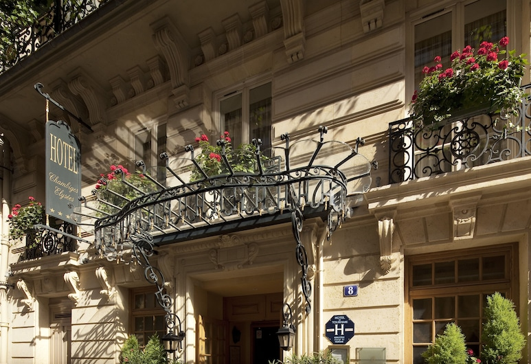 Hotel Chambiges Elysées, Paris, Hotel Front