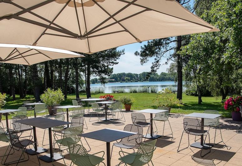 Hotel Du Lac, Armbouts-Cappel, Κήπος