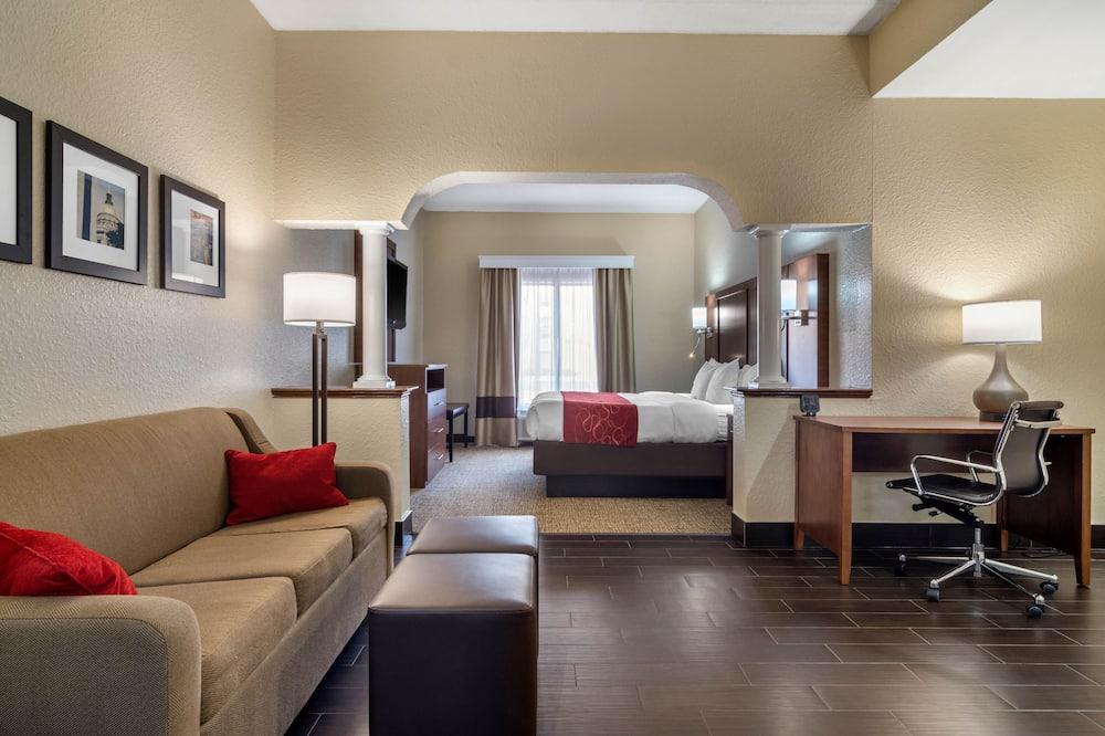 Suite, 1 Katil Raja (King) dengan Katil Sofa, Non Smoking, Hot Tub - Bilik Tamu