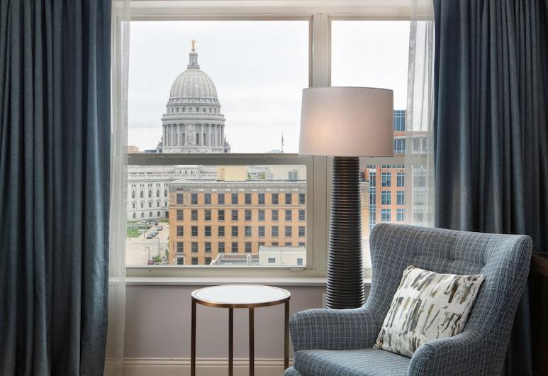 Hilton Madison Monona Terrace, Madison, Oda, 1 En Büyük (King) Boy Yatak, Oda Manzarası