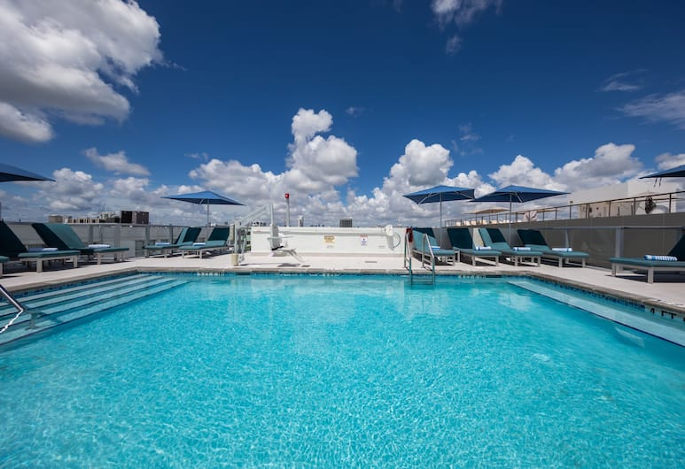 President Hotel, Miami Beach, Rooftop Pool