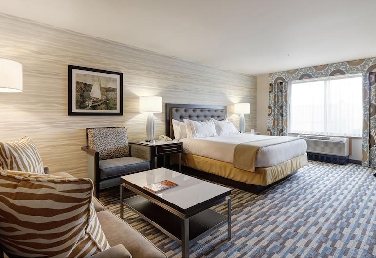 Holiday Inn Express Hotel & Suites Warwick-Providence (Arpt), Warwick, Paaugstināta komforta luksusa numurs, 1 divguļamā karaļa gulta, nesmēķētājiem, Viesu numurs