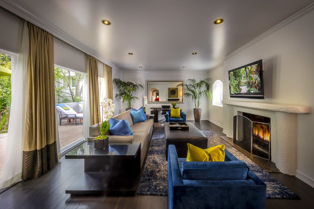 Superior villa, 2 slaapkamers - Woonruimte