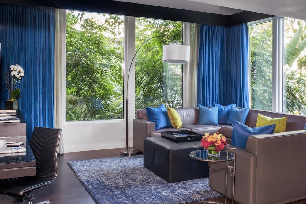 Superior villa, 1 slaapkamer - Woonkamer