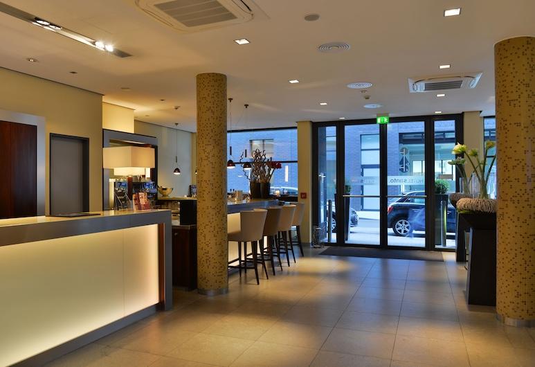 Hotel Santo, Köln, Gästrum