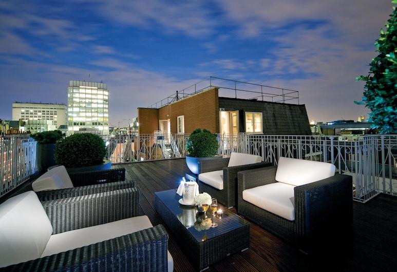 St. James Hotel and Club Mayfair, לונדון, סוויטת סיגנצ'ור, חדר אורחים