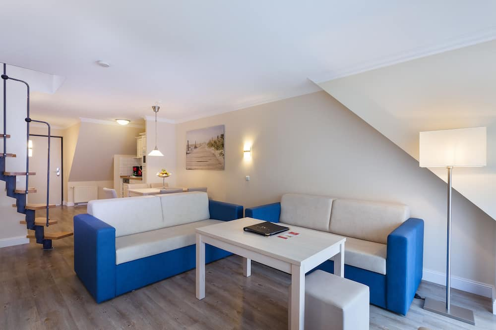 3 room appartement Mozart for 4 Persons - Sala de estar