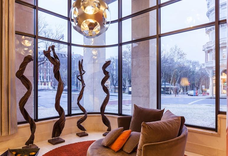 Marques De Pombal Hotel, Λισσαβώνα, Καθιστικό στο λόμπι