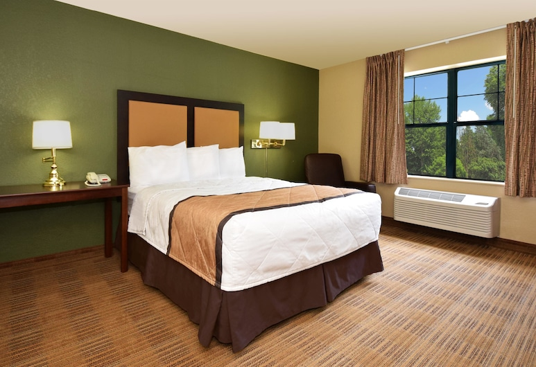 Extended Stay America-Orange County- Anaheim Convention Ctr, Anaheim, Studio, 1 Queen Bed, Accessible, Non Smoking, Guest Room