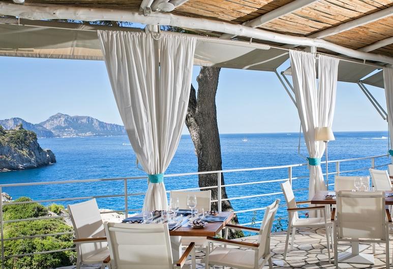 Hotel Delfino, Massa Lubrense, Tempat Makan Luar Ruangan