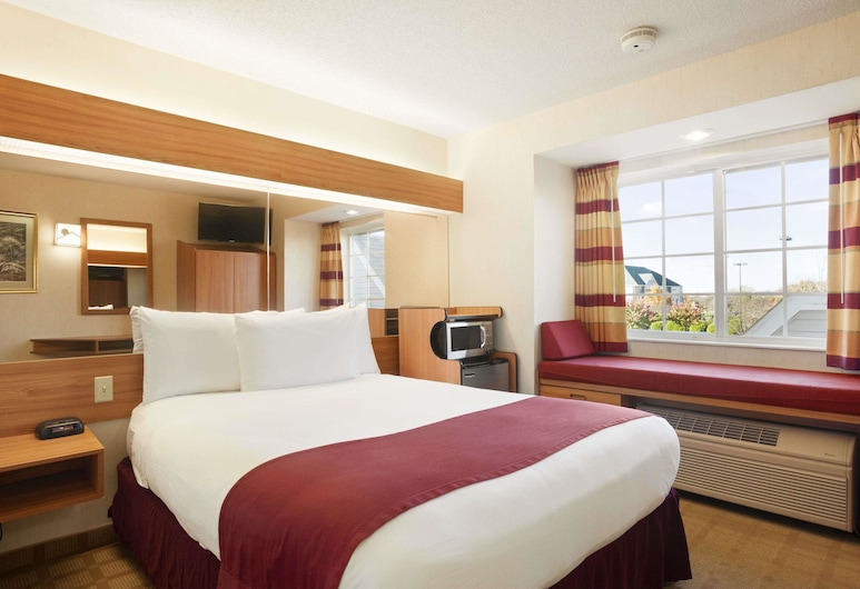 Microtel Inn & Suites by Wyndham Ann Arbor, Ann Arbor, Standard Room, 1 Queen Bed, Guest Room
