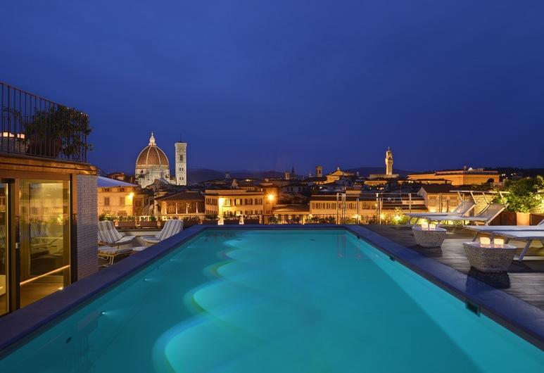 Grand Hotel Minerva, Florenz, Pool auf dem Dach