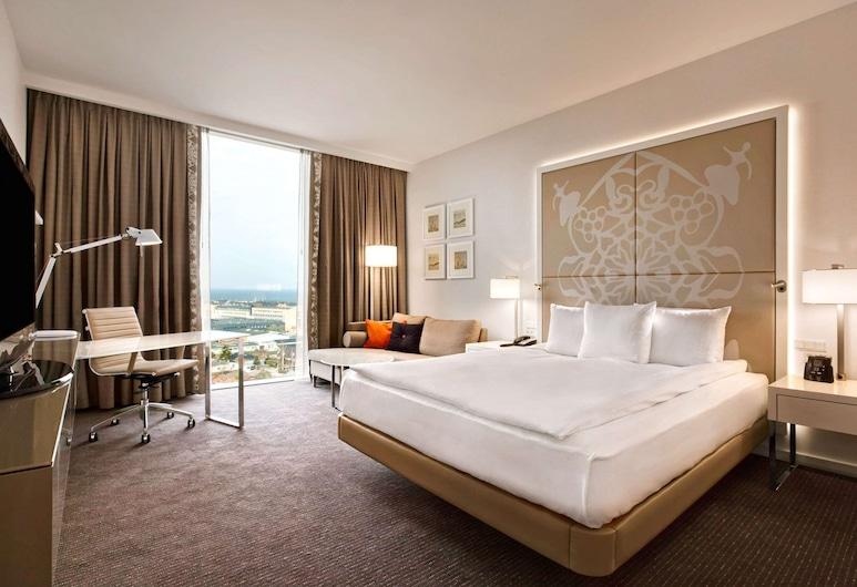 Clarion Hotel Copenhagen Airport, คาสตรุป, ห้องดีลักซ์, เตียงใหญ่ 1 เตียง, ปลอดบุหรี่, ห้องพัก