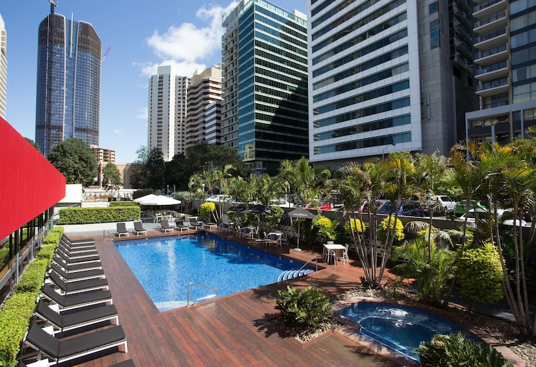 Royal On The Park, Brisbane, Puutarha