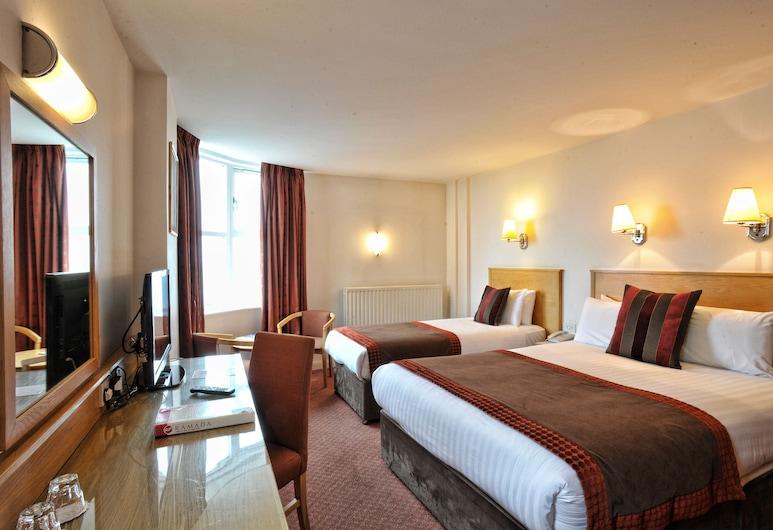 Portrush Atlantic Hotel, Portrush, Pokój dwuosobowy, standardowy, 2 łóżka podwójne, Pokój