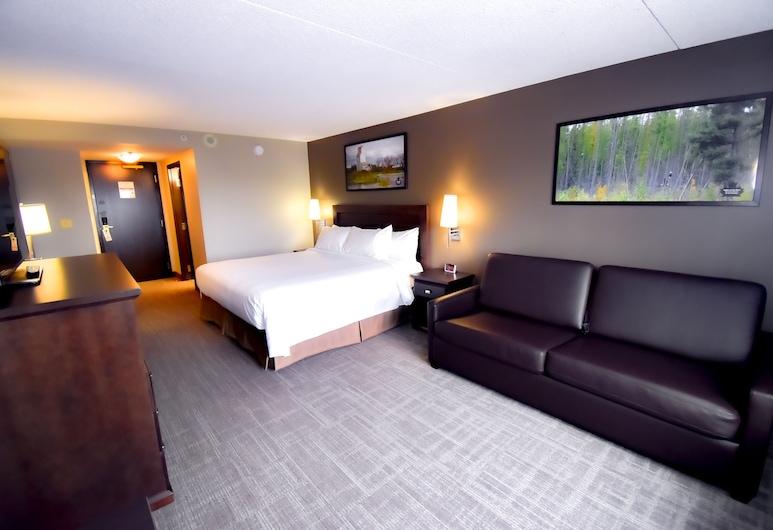 Canad Inns Destination Centre Club Regent Casino Hotel, Winnipeg, Habitación Deluxe, 1 cama King size con sofá cama, Habitación