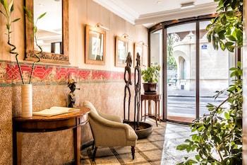 파리의 빌라 몽파르나스 사진
