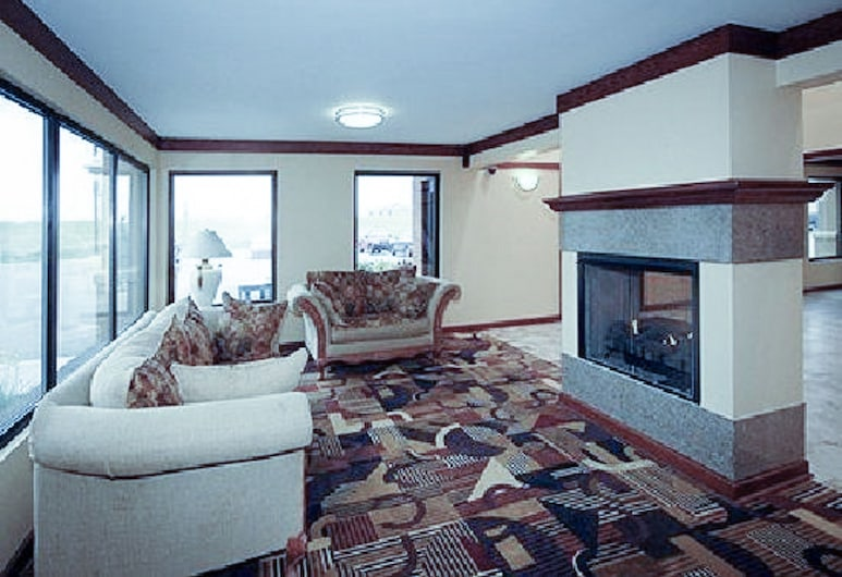 Quality Inn & Suites Greenfield I-70, Грінфілд, Вестибюль