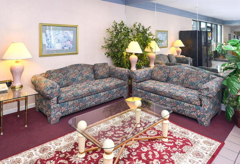 Americas Best Value Inn South Bend at Notre Dame, South Bend, Salottino della hall