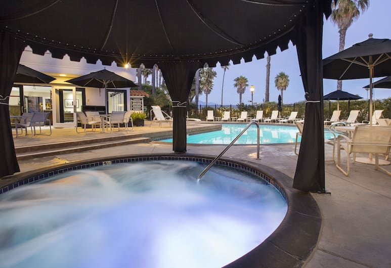West Beach Inn, a Coast Hotel, Santa Barbara, Hidromassagem externa