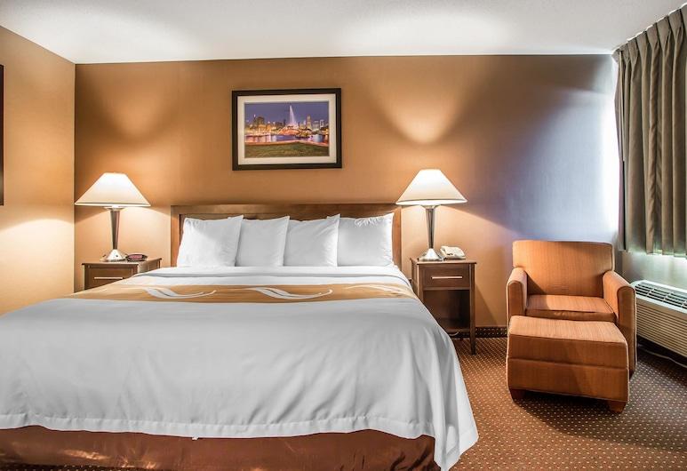 Quality Inn Elgin I-90, Elgin, Suite, 1 cama king-size, Não-fumadores, Quarto