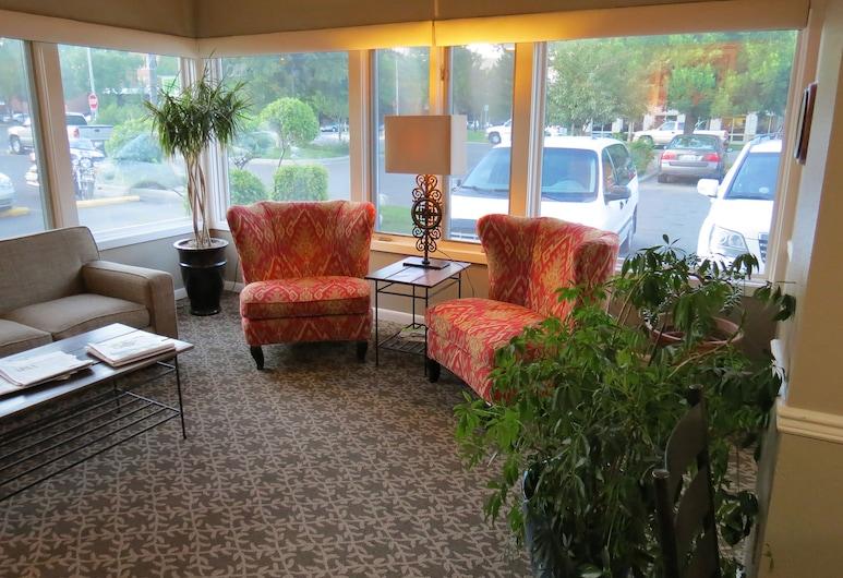 Riversage Billings Inn, Billings, Sittområde i lobbyn