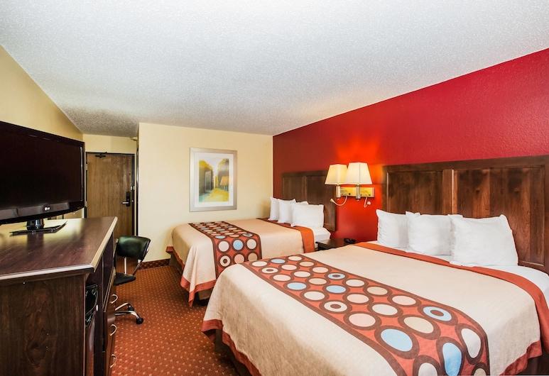 Baymont by Wyndham Cedar Rapids, Cedar Rapids, Pokój, 2 łóżka queen, dla niepalących, Pokój