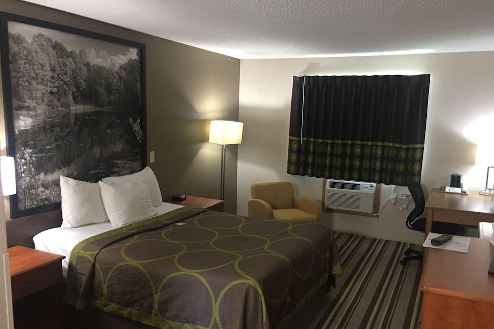 Pokoj, dvojlůžko (180 cm), nekuřácký - Obývací pokoj