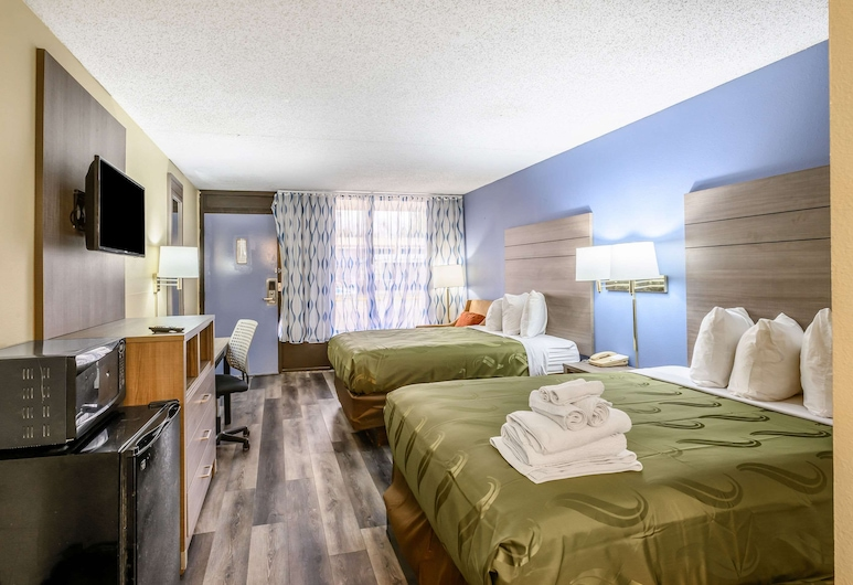 Quality Inn, New Orleans, Standard Room, 2 Double Beds, Non Smoking, Guest Room