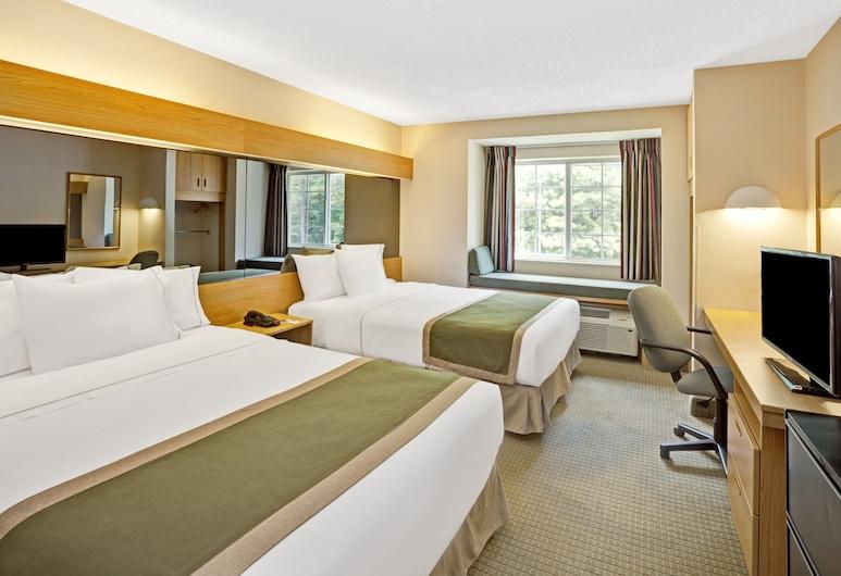 Microtel Inn by Wyndham Raleigh Durham Airport, Μόρισβιλ, Standard Δωμάτιο, 2 Queen Κρεβάτια, Δωμάτιο επισκεπτών