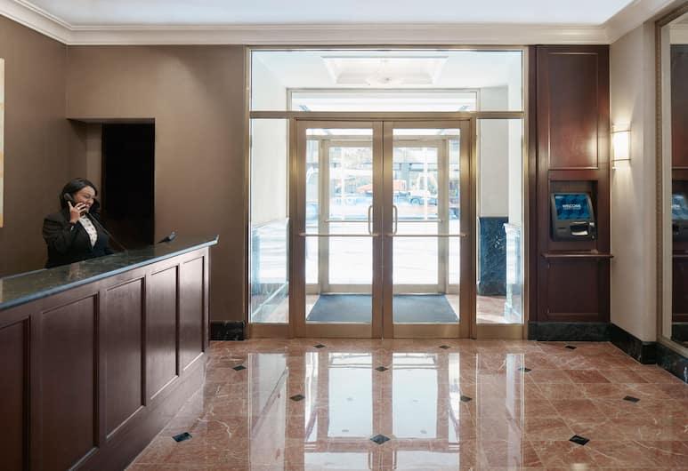 Club Quarters Hotel in Washington DC, Washington, Lobby